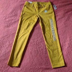 NWT Old Navy SZ 0 Midrise Pixie Ankle Length Pants